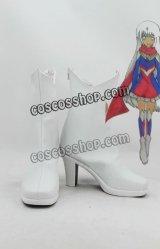 ウルトラシリーズ風 性転 コスプレ靴 ブーツ