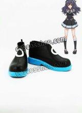 超次元ゲイム ネプテューヌ ユニ風 コスプレ靴 ブーツ