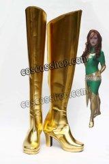 X-Men X-メン ジーン・グレイ風 コスプレ靴 ブーツ