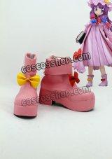 東方紅魔郷 東方Project パチュリー・ノーレッジ風 02 コスプレ靴 ブーツ
