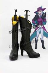魔界王子 devils and realist ジル·ド·レ風 コスプレ靴 ブーツ