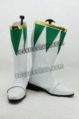 ヒーロー ブライ ドラゴンレンジャー風 コスプレ靴 ブーツ