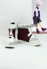 キルア=ゾルディック風 03 コスプレ靴 ブーツ