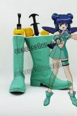 東京ミュウミュウ 藍沢みんと風 ミュウミント コスプレ靴 ブーツ