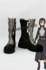 ソードアート・オンライン キリト風 07 コスプレ靴 ブーツ