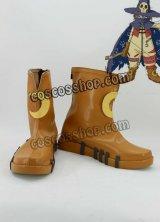 デジモンアドベンチャー ウィザーモン風 Wizarmon コスプレ靴 ブーツ