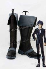 ブラック・ブレット BLACK BULLET 里見蓮太郎風 さとみれんたろう コスプレ靴 ブーツ