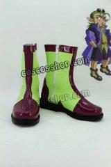 超魔神英雄伝ワタル ドード風 コスプレ靴 ブーツ