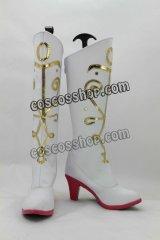 アナと雪の女王 Frozen アナ風 Anna 02 コスプレ靴 ブーツ