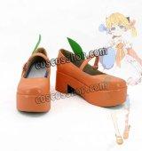 VOCALOID ボーカロイド 鏡音リン風 05 コスプレ靴 ブーツ