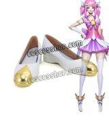 League of Legends LOL リーグ・オブ・レジェンズ スターガーディアン ラックス風 光の才女 コスプレ靴 ブーツ