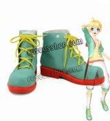VOCALOID ボーカロイド Project DIVA-X 鏡音レン 風 コスプレ靴 ブーツ