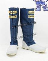 おそ松さん 松野カラ松風 コスプレ靴 ブーツ
