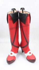 マクロス マクロスデルタ 超時空要塞 フレイア・ヴィオン風 コスプレ靴 ブーツ