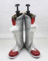 VOCALOID ボーカロイド 樂正綾風 コスプレ靴 ブーツ