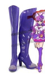キラキラ プリキュアアラモード KIRAKIRA PRECURE A LA MODE 琴爪ゆかり風 キュアマカロン コスプレ靴 ブーツ