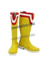 僕のヒーローアカデミア 八木俊典風 オールマイト コスプレ靴 ブーツ