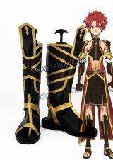 Fate/Grand Order フェイト・グランドオーダー アレキサンダー風 コスプレ靴 ブーツ