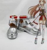 ソードアート・オンライン ホロウ・リアリゼーション HR アスナ Asuna 結城明日奈風 ゆうきあすな コスプレ靴 ブーツ