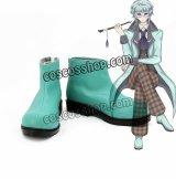 アリス・イン・ワンダーランド Alice in Wonderland アブソレム風 コスプレ靴 ブーツ