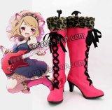 SHOW BY ROCK!! ショウ・バイ・ロック SB69 シアン風 コスプレ靴 ブーツ
