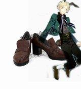 ツキウタ。 皐月葵風 さつきあおい 黒兎王国 コスプレ靴 ブーツ