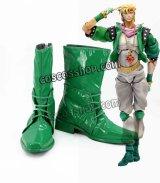 ジョジョの奇妙な冒険 戦闘潮流 シーザー・アントニオ・ツェペリ風 コスプレ靴 ブーツ