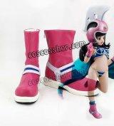 ドラゴンボールZ DRAGON BALL チチ風 ChiChi コスプレ靴 ブーツ
