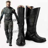 X-MEN: ファイナル ディシジョン ローガン ウルヴァリン風 コスプレ靴 ブーツ