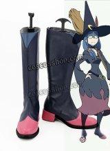 リトル ウィッ チアカデミア Little Witch Academia アーシュラ先生風 コスプレ靴 ブーツ