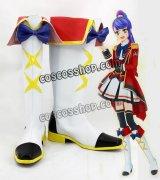 アイカツスターズ! Aikatsu Stars! 四ツ星学園 S4制服 白鳥ひめ風 しらとりひめ コスプレ靴 ブーツ