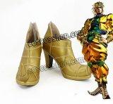ジョジョの奇妙な冒険 Part3 スターダストクルセイダース DIO ディオ風 コスプレ靴 ブーツ