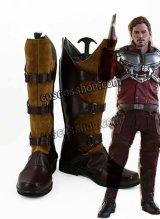 ガーディアンズ・オブ・ギャラクシー Guardians of the Galaxy ピーター・クイル スター・ロード風 コスプレ靴 ブーツ