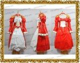 Fate/EXTRA フェイト・エクストラセイバー風 ナメル製 セット ●コスプレ衣装