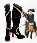 ファイナルファンタジーXIV FF14  ジョブ 吟遊詩人風 コスプレ靴 ブーツ