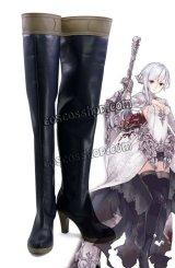 SINoALICE ーシノアリスー 白雪姫 スノウホワイト風 コスプレ靴 ブーツ