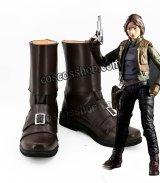 ローグ・ワン スター・ウォーズ・ストーリー Rogue One: A Star Wars Story ジン・アーソ風 コスプレ靴 ブーツ