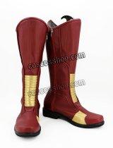 THE FLASH フラッシュ バリー・アレン Barry Allen フラッシュ風 Flash コスプレ靴 ブーツ