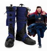 Doctor Strange Dr.ストレンジ ドクター・ストレンジ風 戦闘服 コスプレ靴 ブーツ
