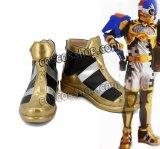 ヒーロー パラド風 パズルゲーマー コスプレ靴 ブーツ