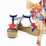 Fate/Grand Order フェイト・グランドオーダー 玉藻の前風 水着 コスプレ靴 ブーツ