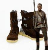 Star Wars: The Last Jedi スター・ウォーズ 最後のジェダイ レイ風 コスプレ靴 ブーツ