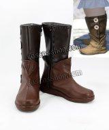 ファイナルファンタジーXIV FF14 ララフェル風 Lalafell コスプレ靴 ブーツ