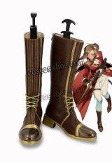 少女前線 Girls Frontline リー・エンフィールド風 軍服制服 コスプレ靴 ブーツ