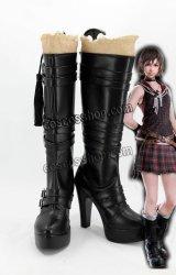 ファイナルファンタジーXV FF15 イリス・アミシティア風 Iris Amicitia コスプレ靴 ブーツ