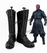 スター・ウォーズ Star Wars ダース・モール風 Darth Maul コスプレ靴 ブーツ