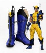 X-メン x-men ウルヴァリン風 Wolverine アニメ コスプレ靴 ブーツ
