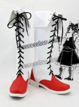 東方Project 博麗霊夢風 はくれいれいむ 03 コスプレ靴 ブーツ