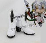 Fate/Apocrypha フェイト/アポクリファ レオナルド・ダ・ヴィンチ キャスター風 クリスマス コスプレ靴 ブーツ