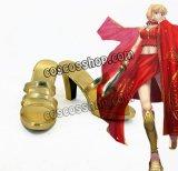 Fate/Grand Order フェイト・グランドオーダー ネロ・クラウディウス風 コスプレ靴 ブーツ